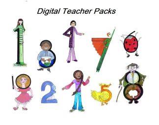 Teacher Packs - downloadable